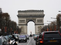 And there's our great Arc de Triomphe.