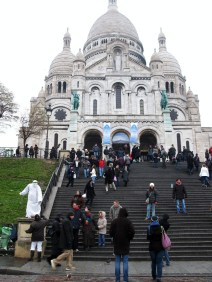 The magnificent basilica stood right in front of me.