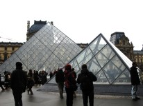 Official Louvre pyramid shot.