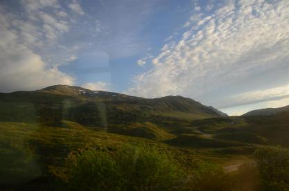 On the way from Glasgow to Oban - part of the West Highland Line?