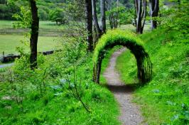 The little green tunnel
