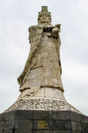 Tallest statue of A-Ma in the world