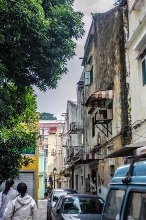 Streets of Taipa village