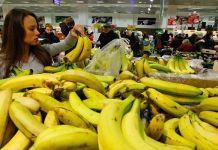 El banano ecuatoriano es el rey de Rusia