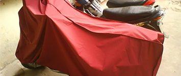 Bạt phủ xe máy chống nắng