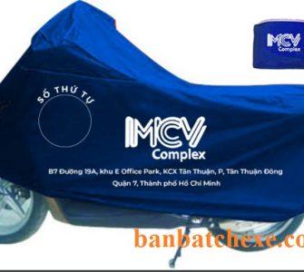 Sản xuất bạt che xe máy ô tô