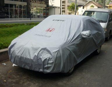 In ấn bạt phủ xe ô tô