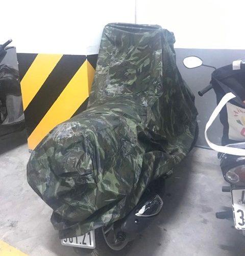 Vải bạt che xe máy