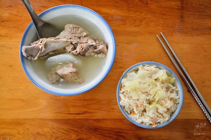 延三夜市美食:高麗菜飯原汁排骨湯,平價懷舊的古早味/米其林必比登推薦