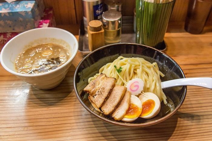 東京拉麵:銀座朧月 在地美食推薦好吃沾麵,濃厚魚介豚骨醬汁與Q彈麵條的結合