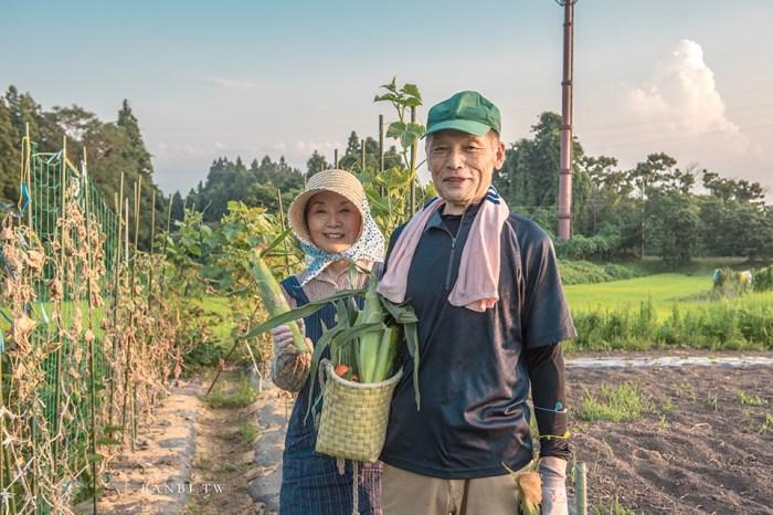 日本鄉村生活:喜多方農泊あぐに住宿、摘蔬果吃日本媽媽拿手菜,一泊二食東北溫暖旅遊