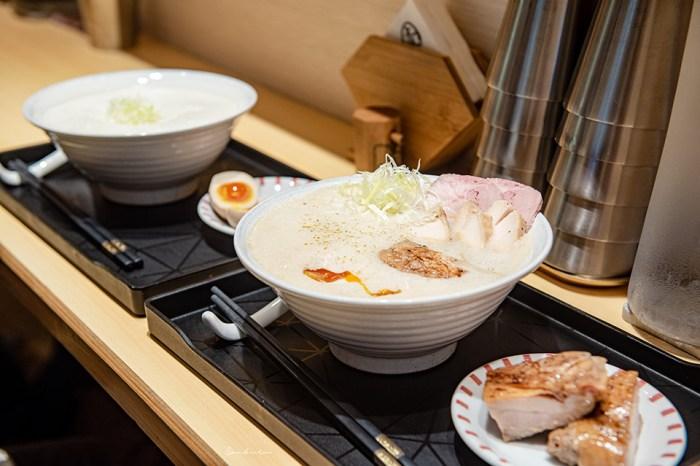 台北中山-麵屋壹慶拉麵:關西泡系豚骨醬油、雞白湯,細滑濃香的讚嘆美味
