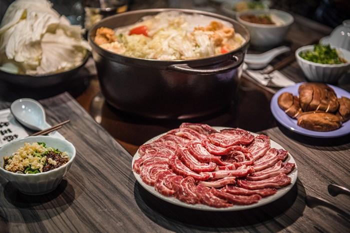 台南牛肉湯:牛五蔵溫體牛肉火鍋 現切圈圈肉x牛骨鍋底,再加牛燥飯好滿足