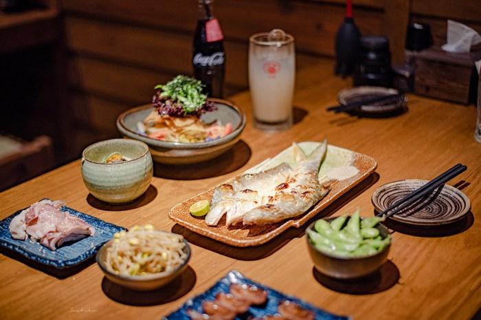 吳留手串燒居酒屋本店-懷念的日本味道好吃燒烤串燒,穿越到昭和時代一起吃飯