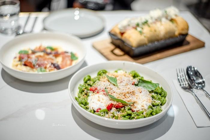 台北大安:PASTAIO好吃手工義大利麵條現場製作,療癒的彩虹麵條色/國父紀念館最新人氣餐廳