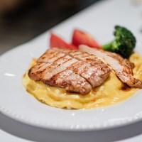 中山美食:阿花蕎麥麵 金黃色的現煎豬排蛋包飯,好吃更勝雞湯蕎麥麵