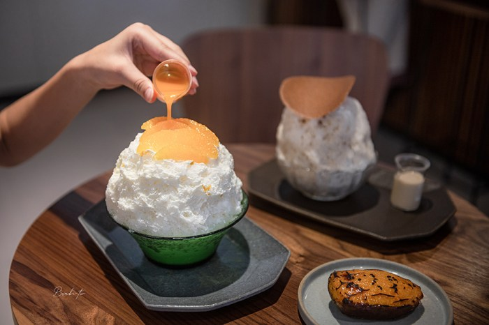 台北古亭KAKIGORI TOSHIHIKO日式刨冰店:奶油起司柑橘、焙茶拿鐵,好吃的想常常來一碗
