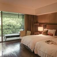 北投麗禧溫泉酒店:一泊二食泡湯住宿,森林窗景像回到日本