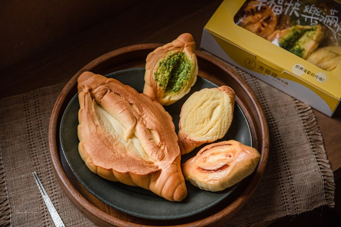 高雄方師傅點心坊:人氣大羅宋麵包好吃的奶油蜜香、多口味小羅宋伴手禮盒