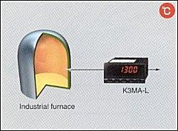 K3MA App01 furnace K3MA L đo nhiệt độ