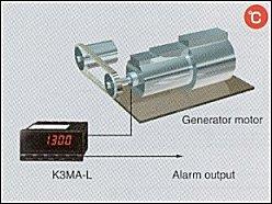 K3MA App03 generator K3MA L đo nhiệt độ