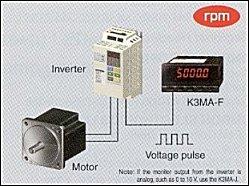 K3MA App09 inverter K3MA F đo tần số