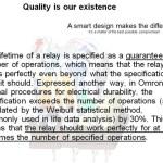 Omron's Tuyên bố về Chất lượng và Độ tin cậy
