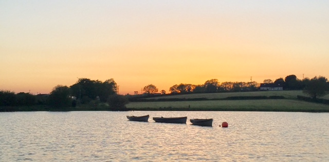 BAC Sunset at Corbet Lough on 25 May 2017 - Photograph courtesy of Andy Cleeve