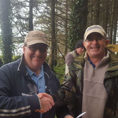 BAC Friendship Cup 2017 Martin Dynes and Aidan Donnelly Seaghan Dam 16 September 2017