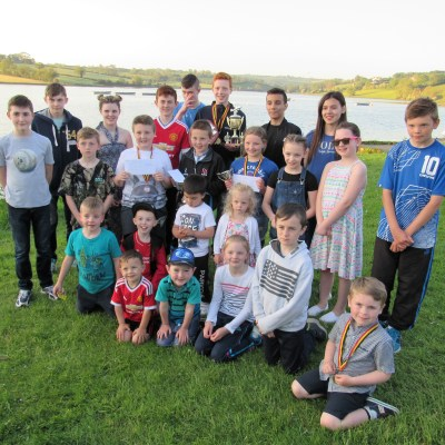 BAC Juvenile and Junior Angler of the Year Prize Distribution Evening and BBQ at Corbet Lough on 25 May 2017