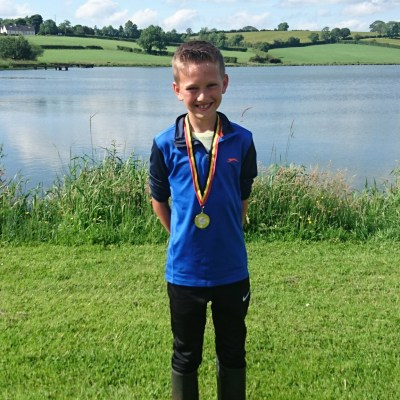 BAC Junior angler at the Sportsman Cup competition at Corbet Lough on Saturday 17 June 2017