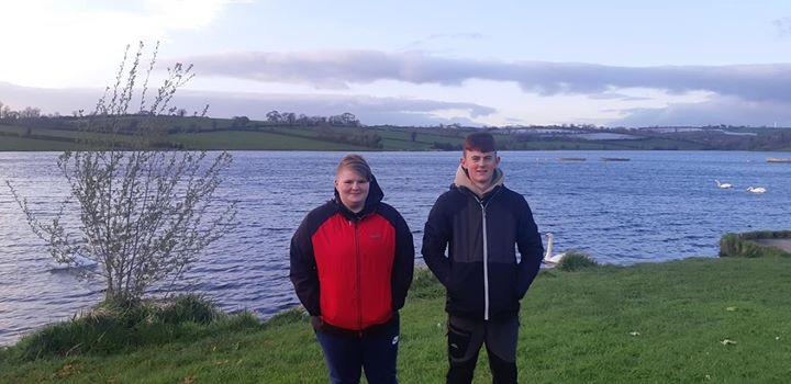 BAC - Juvenile prize winners in The Banbridge Angling Club Cup Competition at Corbet Lough on 27 April 2019