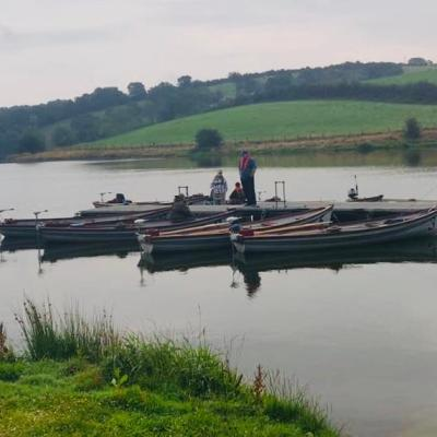 BAC - Corbet Lough 3 August 2019 - Boats ready for The Silver Butchers