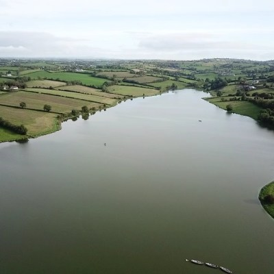 BAC - Corbet Lough from the air on 2 October 2019 - Photograph courtesy of Chris Wolfe (taken by drone)
