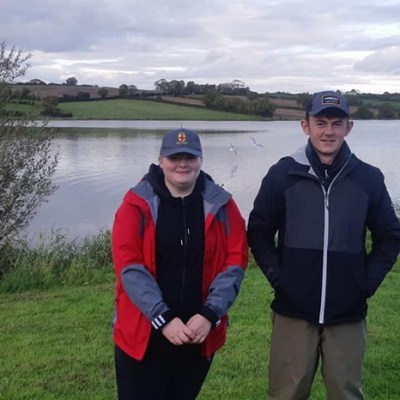 BAC - Juvenile anglers who fished in the Graham Cup at Corbet Lough on Saturday 12 October 2019