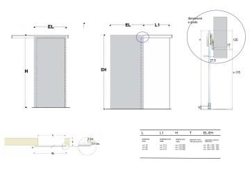 Porte A Scrigno Misure | Il Meglio Di Potere Porte Con Telaio A ...