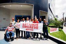 Caixa São Braz na greve