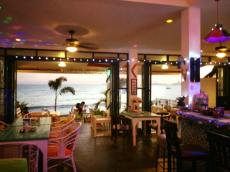 Phala Beach cafe interior