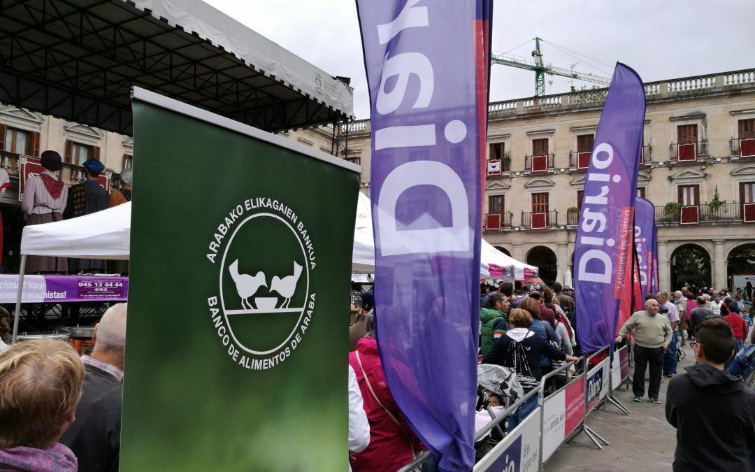 La solidaridad con el BAA también en las fiestas de la Blanca de Vitoria/Gasteiz