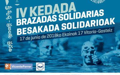 IV KEDADA BRAZADAS SOLIDARIAS a favor del BAA y de la Fundación Vicente Ferrer