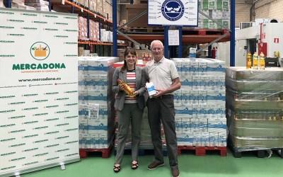 Mercadona entrega 3.000 kilos de productos al Banco de Alimentos de Araba