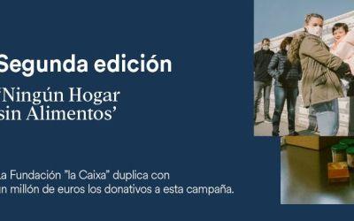 La campaña 'Ningún hogar sin alimentos' de Fundación La Caixa nos entrega 22.000€