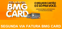 SEGUNDA VIA FATURA BMG CARD