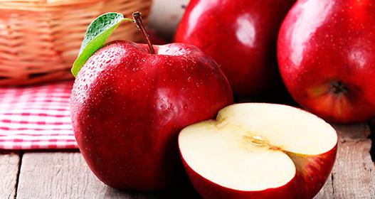 Manzanas. Ardor de estómago