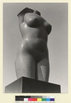 Hagemeyer, Johan. Torso sculpture by Beniamino Bufano (1945). BANC PIC 1964.064:452--PIC. Courtesy of The Bancroft Library, University of California, Berkeley Online