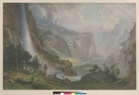 Bierstadt, Albert. Looking down Yosemite Valley. BANC PIC 1974.009--FR. Courtesy of The Bancroft Library, University of California, Berkeley ONLINE