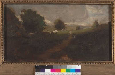 Keith, William. Landscape Study. Courtesy of The Bancroft Library, University of California, Berkeley Online