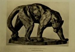 Putnam, Arthur. Puma Examing Footprints. In California art research. [Monographs] First series. San Francisco, Calif., 1936-1937 and in California art research. Microfiche edition. La Jolla, Calif. : L. McGilvery, 1987. Vol. 6.