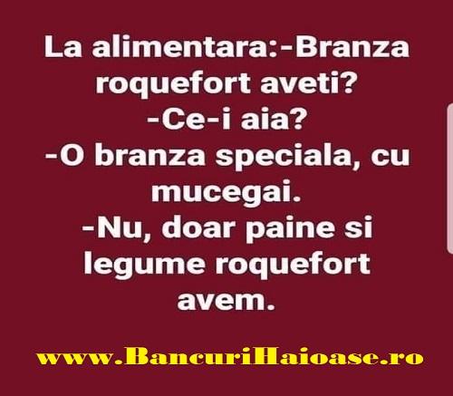 banc cu branza Roquefort, Cele mai bune bancuri, bancuri amuzante 2019, banc cu branza, bancuri amuzante,