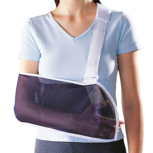 Armslynge fra bandageshoppen.dk - Nem at anvende og varmer ikke